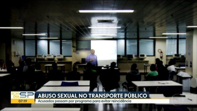 Acusados de abuso sexual no transporte público participam de programa de reeducação
