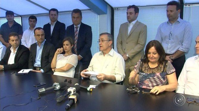 Crespo divulga secretariado ao lado de Jaqueline Coutinho em Sorocaba