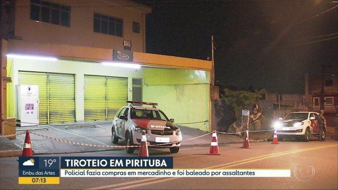 PM é baleado durante assalto em um mercadinho em Pirituba