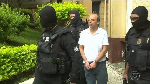 Resultado de imagem para Na prisão da Lava Jato, Cabral tem a companhia de Vaccari e Cunha
