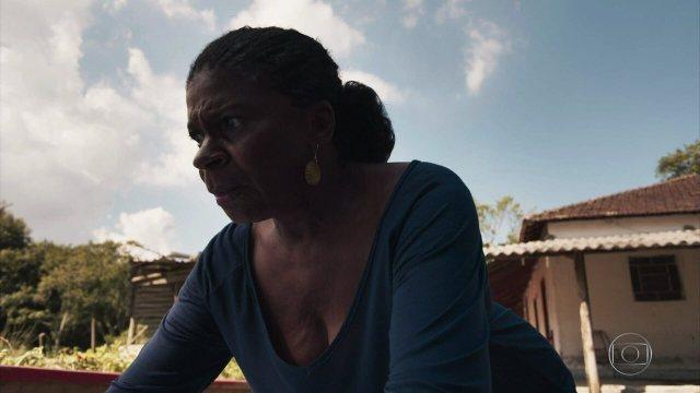 A Grande Mãe do quilombo tem um pressentimento