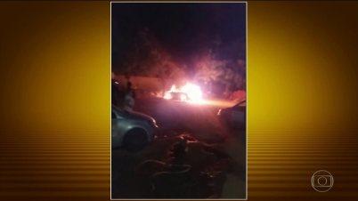 Bandidos realizam ataques no Ceará pela 5ª noite seguida