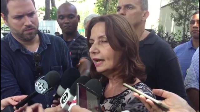 Deputada Martha Rocha conta que soube de ameaças de milicianos contra ela