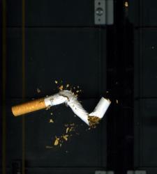 Resultado de imagen de cigarrillo a medio apagar