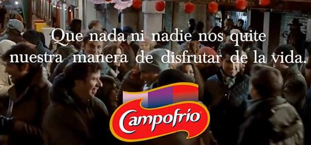 Resultado de imagen de españoles anuncio