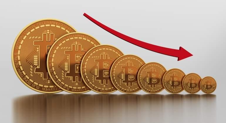 bitcoin a la baja