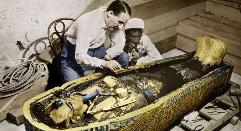 Resultado de imagen de la maldición de tutankamón