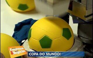 Empresas investem em artigos esportivos em ano de Copa