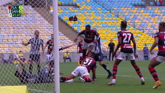 Melhores momentos: Flamengo 4 x 1 Santos pela 25ª rodada do Brasileirão 2020