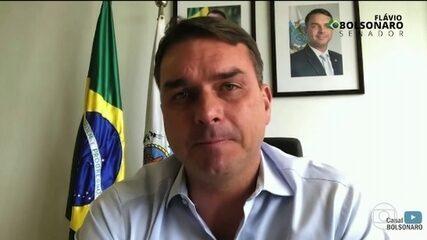 Flávio Bolsonaro pede ao Supremo para suspender investigações do Ministério Público
