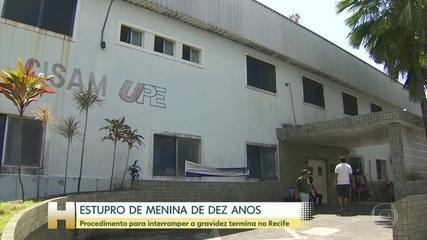 Menina de 10 anos estuprada pelo tio no Espírito Santo tem gravidez interrompida