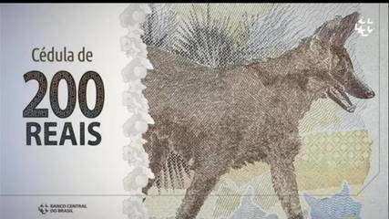 Banco Central lança nota de R$ 200 com imagem de lobo-guará