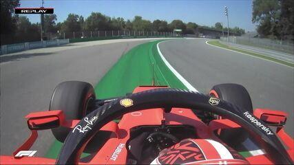 Voltas de Leclerc e Magnussen são deletadas no treino do GP da Itália