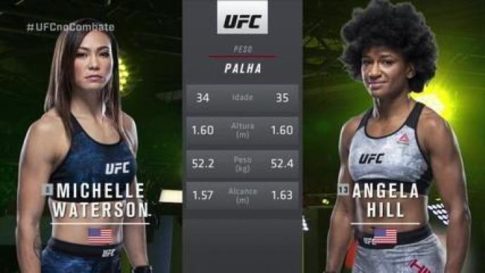 UFC Waterson x Hill - Michelle Waterson x Angela Hill