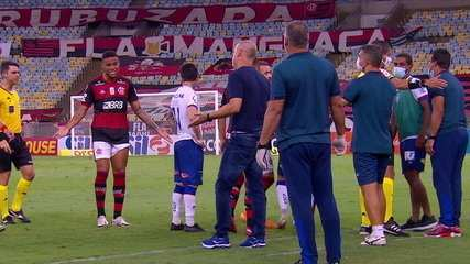 Ouça o áudio de Mano Menezes, na discussão com Gerson, do Flamengo