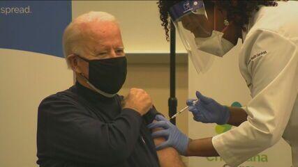 US President-elect Joe Biden Gets Covid-19 Vaccine