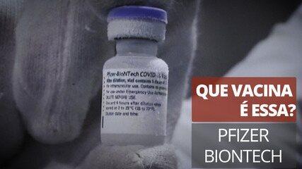 Que vacina é essa?  Pfizer Biontech