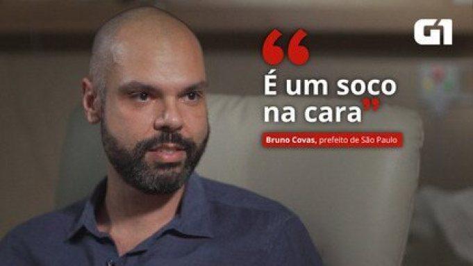 VÍDEO: 'É um soco na cara', diz Bruno Covas ao descobrir que estava com câncer