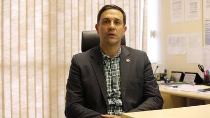 Coordenador geral de fronteiras, Saulo Sanson explica como devem ocorrer as ações da operação