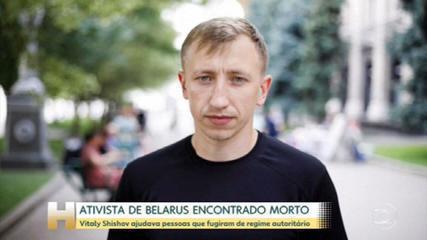Belarus activist found dead in Ukraine