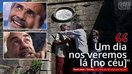 VÍDEO: 'Um dia nos veremos lá [no céu]', diz Paulo José a Tarcísio Meira em cena de novela