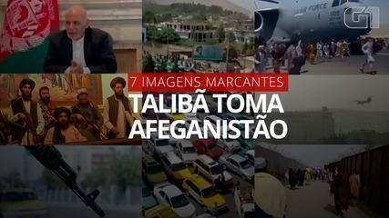 As 7 imagens mais marcantes da tomada do Afeganistão pelo Talibã