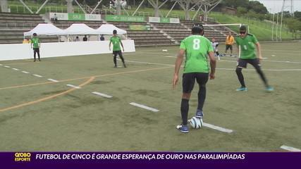 Five-a-side football is big hope for gold in the Paralympics