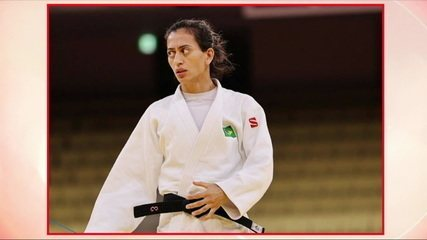 Lúcia Araújo wins bronze medal after beating the Russian ippon in the up to 57kg category