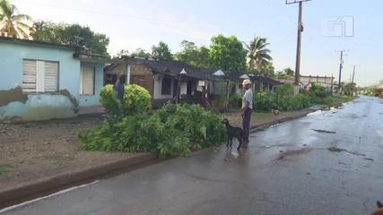 Hurricane Ida wreaks havoc in Cuba