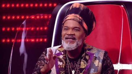 Carlinhos Brown chooses who follows on 'The Voice Kids'