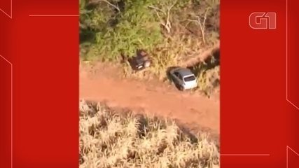 Cars used by criminals during mega-robbery are found abandoned in the woods