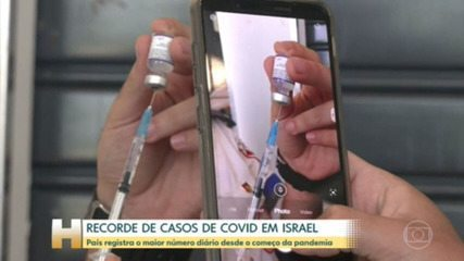 Israel sets record for daily Covid-19 cases since pandemic began