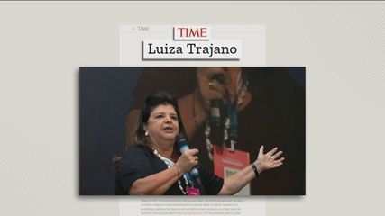 Luiza Trajano is on Time magazine's list of the most influential people of 2021