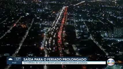 Departure for the holiday moves the main highways in São Paulo