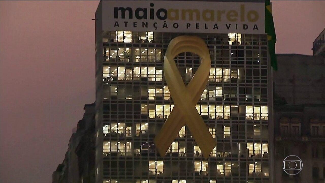 Cidade de São Paulo adere ao movimento mundial de alerta contra as mortes no trânsito