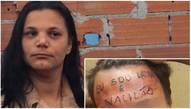 Mãe de adolescente tatuado na testa diz que filho 'não é bicho'