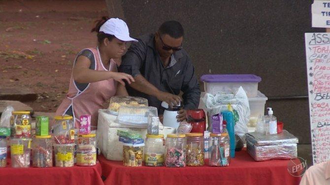 Sem fiscalização, ambulantes voltam a vender alimentos no Hospital de Clínicas da Unicamp