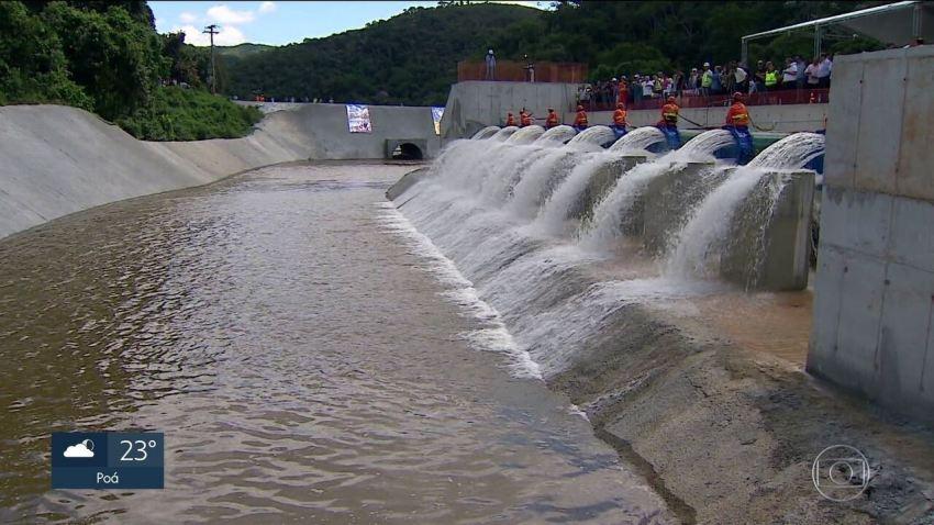 Sistema Cantareira passa a receber água do Rio Paraíba do Sul