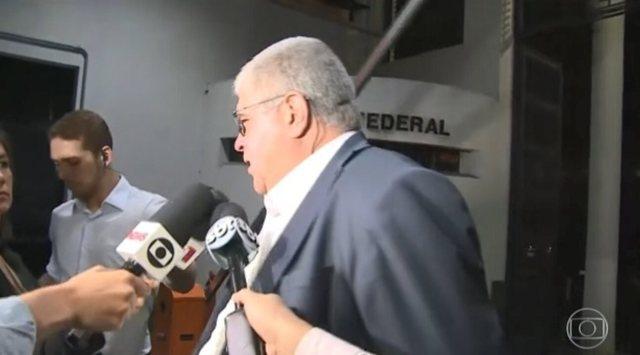 Ex-presidente Michel Temer recebe visita de Carlos Marun na Polícia Federal