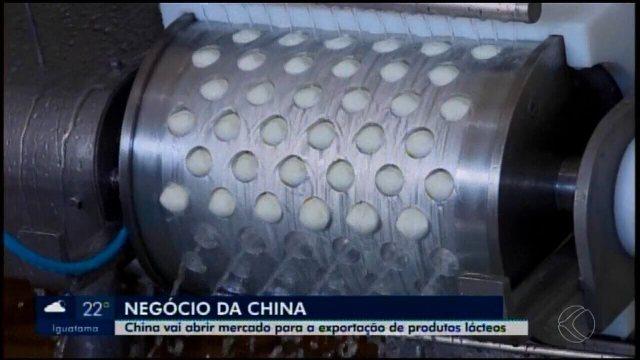 Abertura do mercado chinês para exportação de produtos lácteos anima empresários
