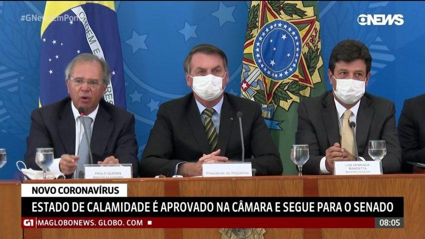 Guedes anuncia medidas para conter impacto na economia