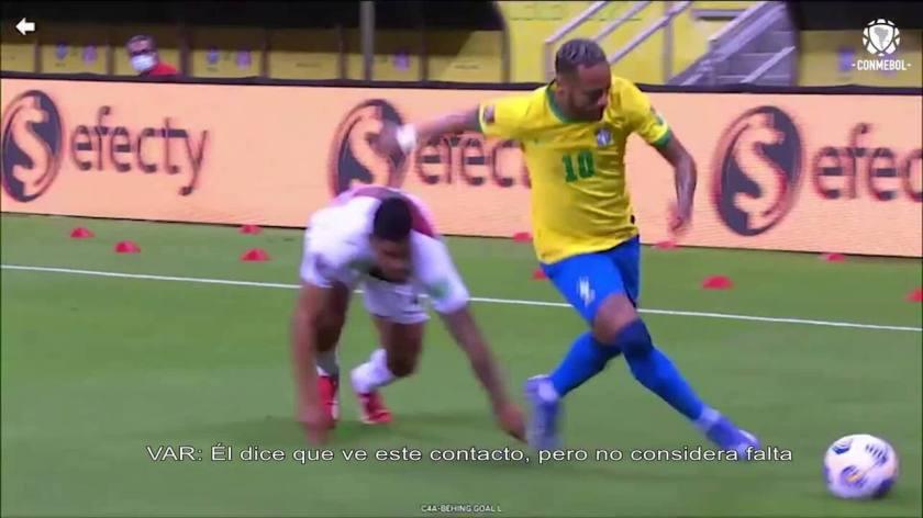VAR Lack of Neymar?  Conmebol releases VAR audio in the national team's goal