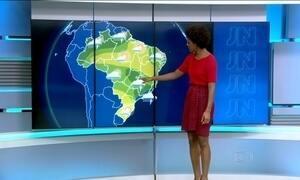 Temperatura pode sofrer grande queda em boa parte do país nesta sexta-feira (19)