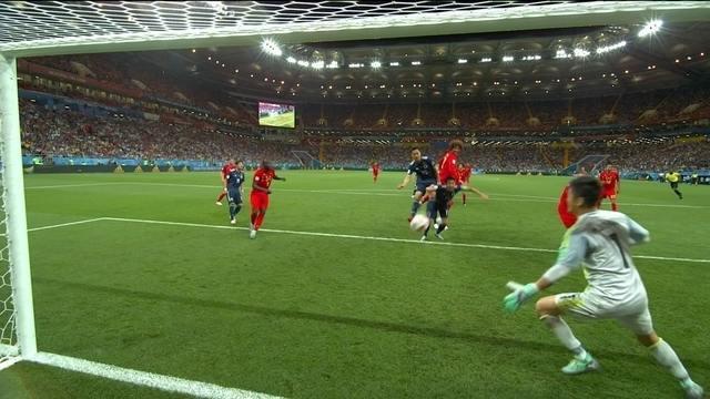 Os gols de Bélgica 3 x 2 Japão pelas oitavas de final da Copa do Mundo