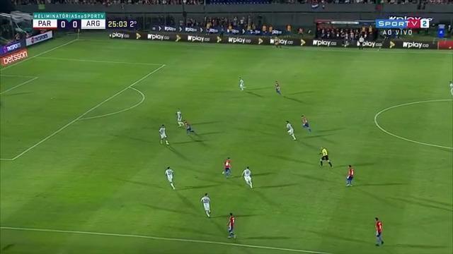 Melhores momentos: Paraguai 0 x 0 Argentina, pela 11ª rodada das Eliminatórias da Copa