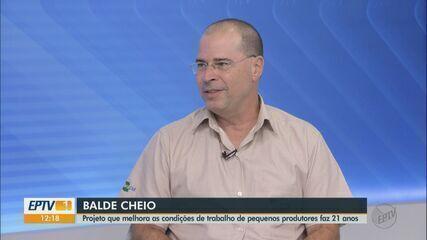 Projeto Balde Cheio auxilia produtores de leite há 21 anos
