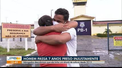Homem passa 7 anos preso após ter sido inocentado, em João Pessoa