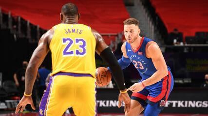 Melhores momentos: Detroit Pistons 107 x 92 Los Angeles Lakers pela NBA