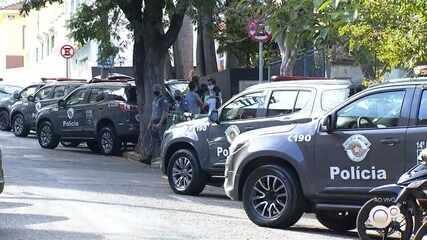 Baep cumpre mandados de prisão durante operação contra crime organizado em Salto