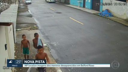 MP finds footage showing the missing boys of Belford Roxo